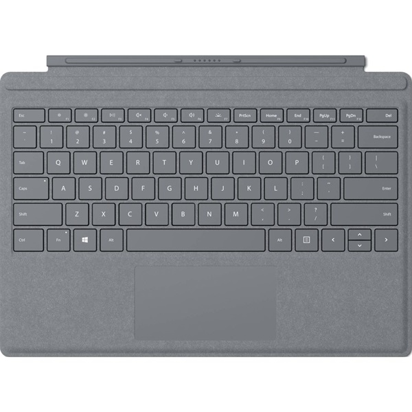 Microsoft Surface Pro világosszürke billentyűzetes tok - 1