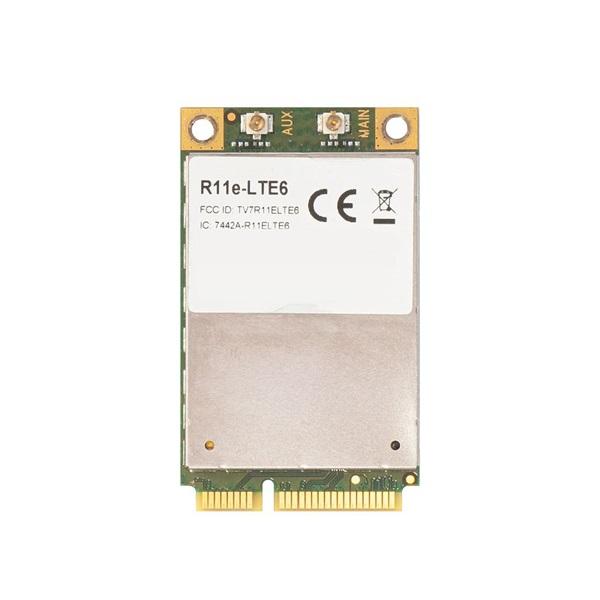 MikroTik Audience LTE6 kit 2xGbE LAN Tri-Band wireless LTE CAT6 modemmel - 1