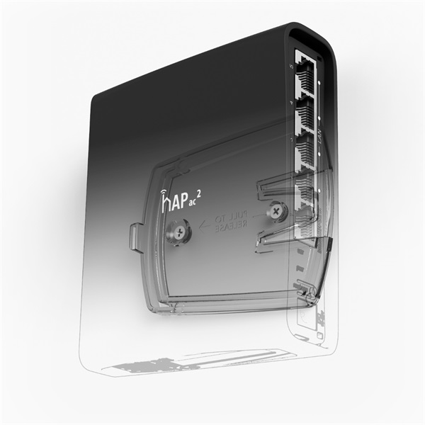 MikroTik hAP ac2 RBD52G-5HacD2HnD-TC L4 128Mb 5xGbE Dual-Band Vezeték nélküli router - 3
