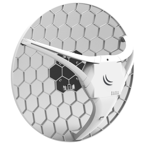 MikroTik LHG LTE kit 1xLAN port 1xSIM slot 17dBi 25 fokos LTE antenna - 2