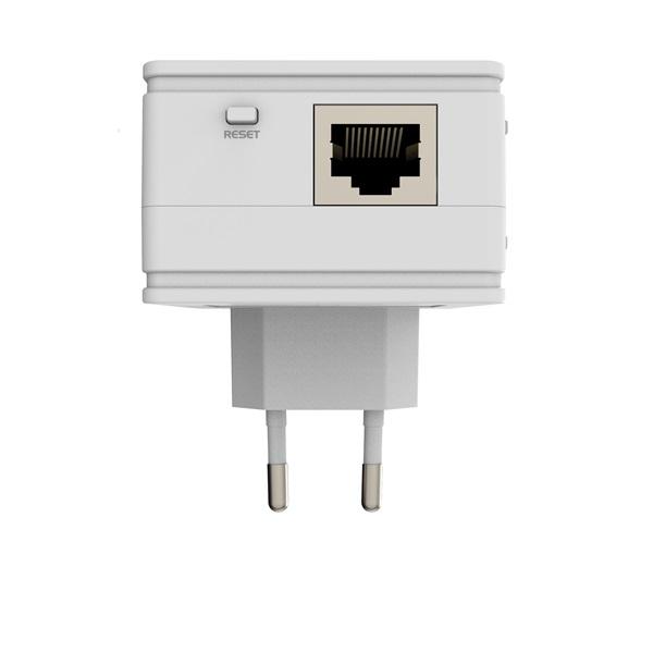 MikroTik PL7411-2nD PWR-LINE AP 1x FE LAN port 2,4GHz wireless integrált antenna - 4