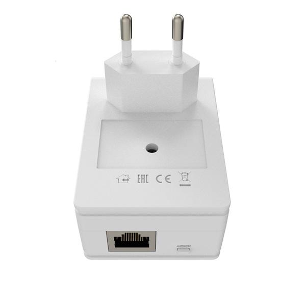 MikroTik PL7411-2nD PWR-LINE AP 1x FE LAN port 2,4GHz wireless integrált antenna - 5