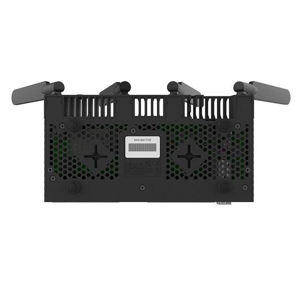 MikroTik RB4011IGS+5HACQ2HND-IN 10port GbE LAN, 1xSFP+ port, 2,4GHz & 5GHz 802.11ac wireless külső antennával - 4