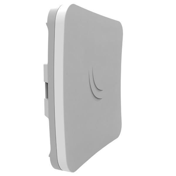 MikroTik SXTsq Lite5, 16dBi 5GHz antenna, Dual Chain 802.11an wireless, 1xLAN, L3 - 1