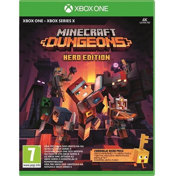 Minecraft Dungeons: Hero Edition Xbox One játékszoftver - 1