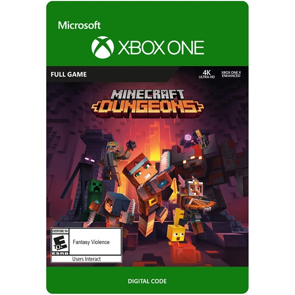 Minecraft Dungeons: Hero Edition Xbox One játékszoftver - 2