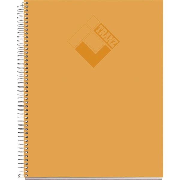Miquelrius Tranz A4 100lapos PP kockás vegyes színű spirálfüzet - 2