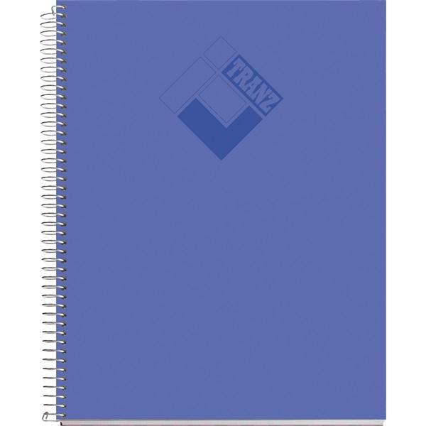 Miquelrius Tranz A5 100lapos PP kockás vegyes színű spirálfüzet - 1