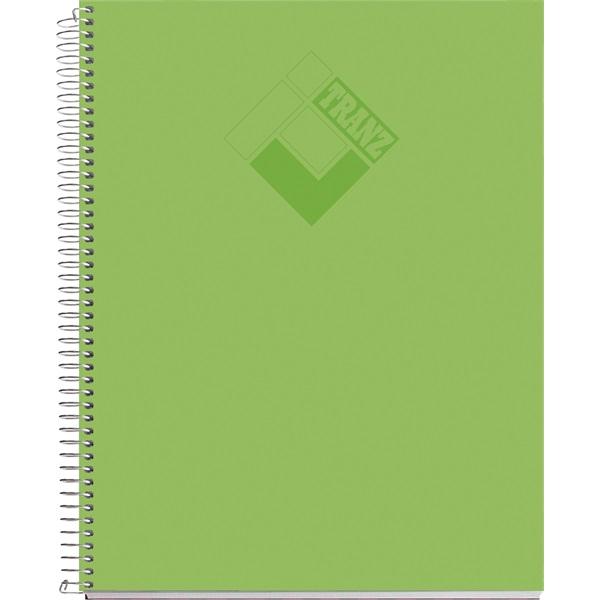 Miquelrius Tranz A5 100lapos PP kockás vegyes színű spirálfüzet - 4