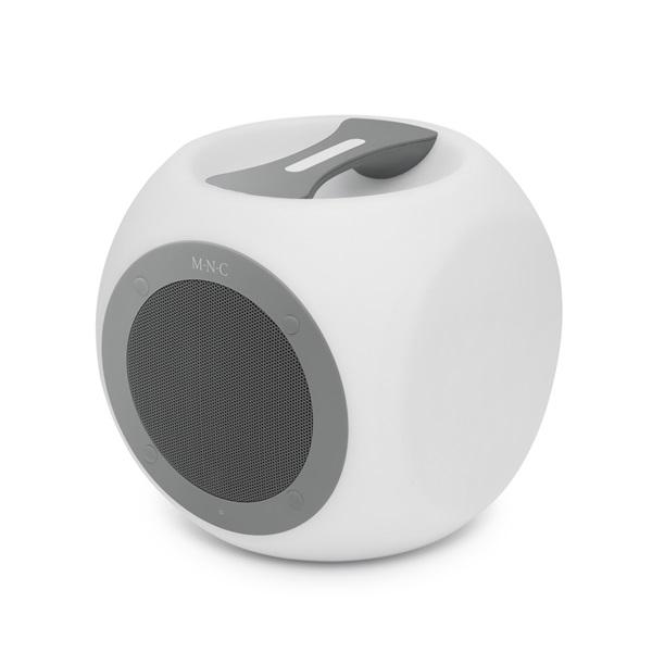 MNC Chill Cube szürke Bluetooth hangszóró - 1