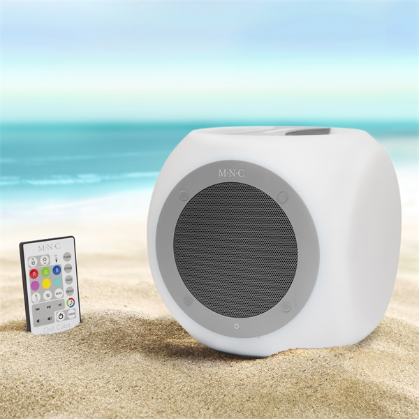 MNC Chill Cube szürke Bluetooth hangszóró - 4