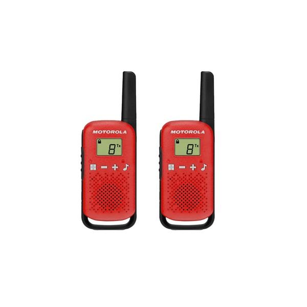 Motorola Talkabout T42 piros walkie talkie (2db) - 1