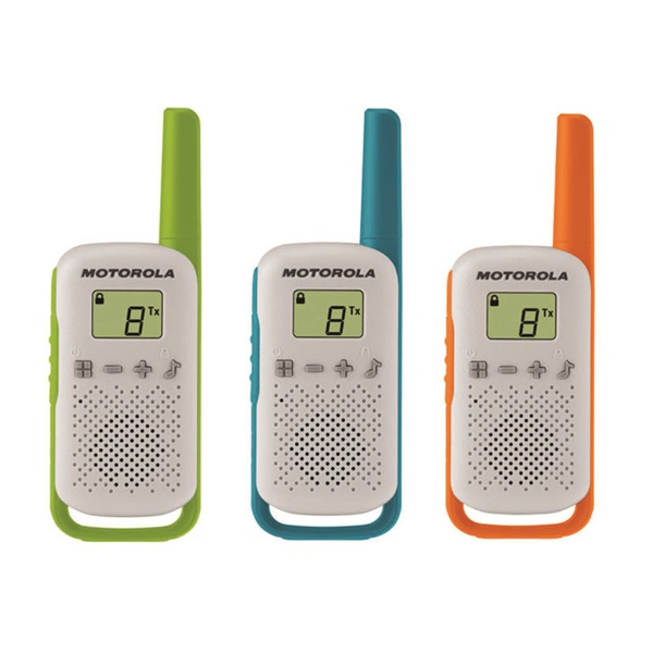 Motorola Talkabout T42 Triple Pack walkie talkie (3db) - 1