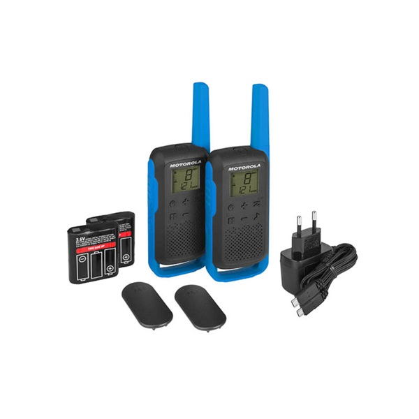 Motorola Talkabout T62 kék walkie talkie (2db) - 2