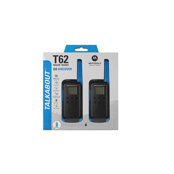 Motorola Talkabout T62 kék walkie talkie (2db) - 3