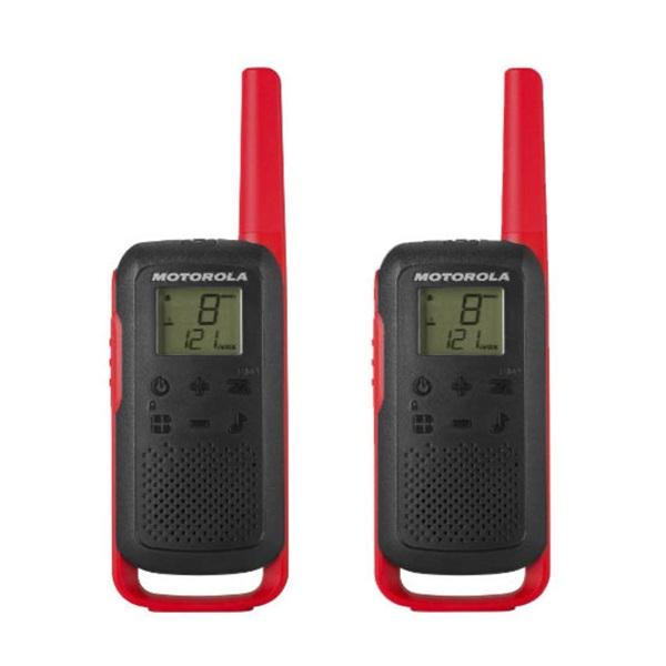 Motorola Talkabout T62 piros walkie talkie (2db) - 1