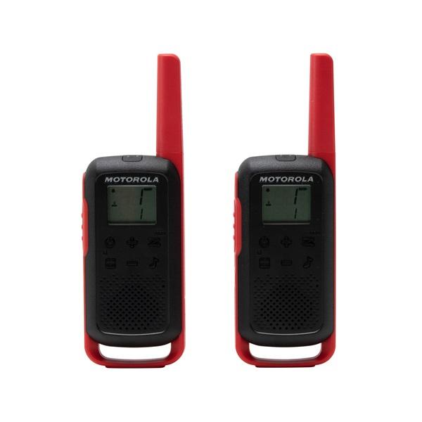 Motorola Talkabout T62 piros walkie talkie (2db) - 2