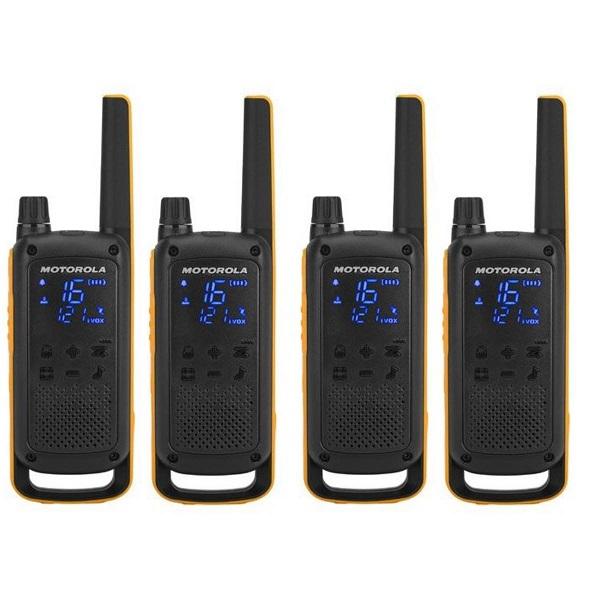 Motorola Talkabout T82 Extreme Quad walkie talkie (4db) - 1