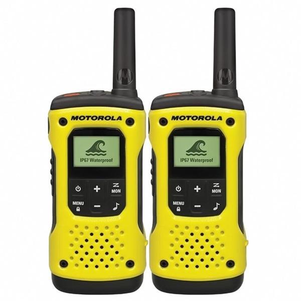 Motorola Talkabout T92 H2O sárga walkie talkie (2db) - 1
