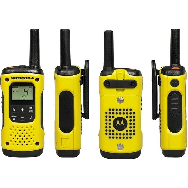 Motorola Talkabout T92 H2O sárga walkie talkie (2db) - 2