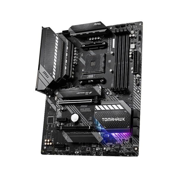 MSI MAG B550 TOMAHAWK AMD B550 SocketAM4 ATX alaplap - 3