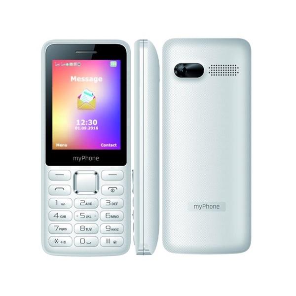 myPhone 6310 2G 2,4 Dual SIM fehér mobiltelefon - 1