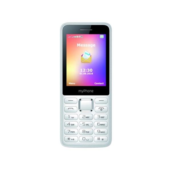 myPhone 6310 2G 2,4 Dual SIM fehér mobiltelefon - 3