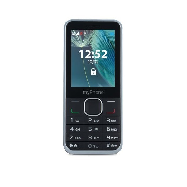 myPhone Classic+ 2,4 Dual SIM fekete mobiltelefon - 1
