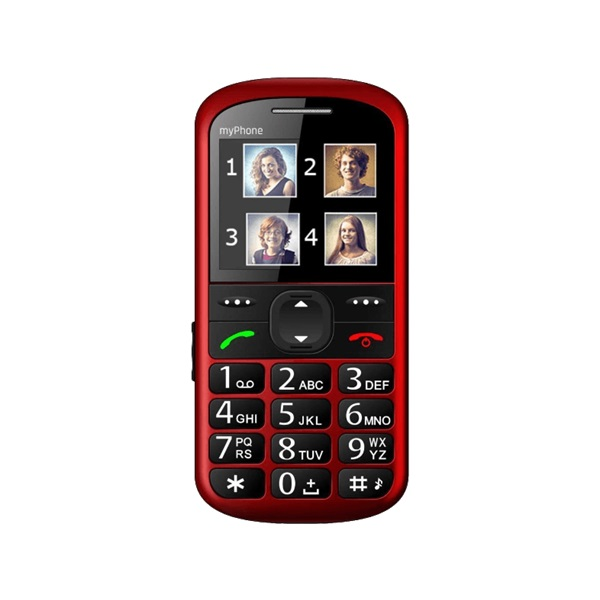 myPhone Halo 2 2,2 piros mobiltelefon - 3