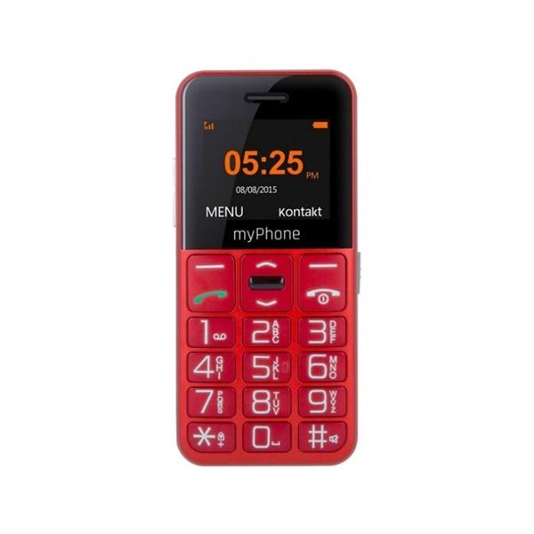 myPhone Halo EASY 1,7 piros mobiltelefon - 2
