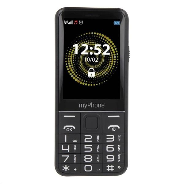 myPhone Halo Q+ 2,8 3G Dual SIM fekete mobiltelefon - 1