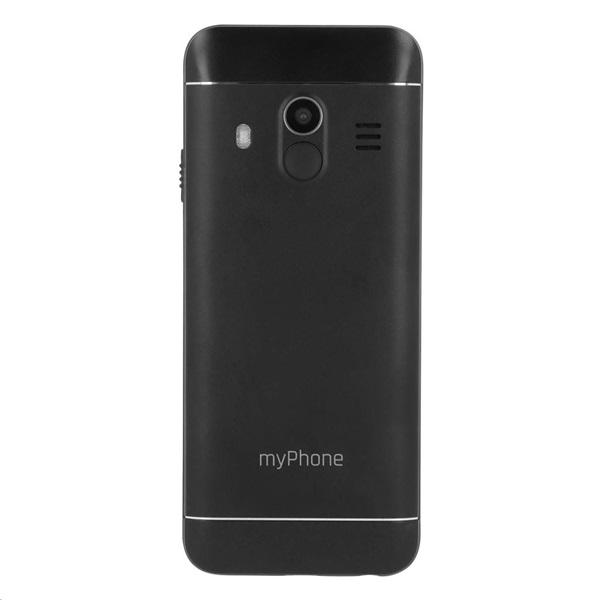 myPhone Halo Q+ 2,8 3G Dual SIM fekete mobiltelefon - 3