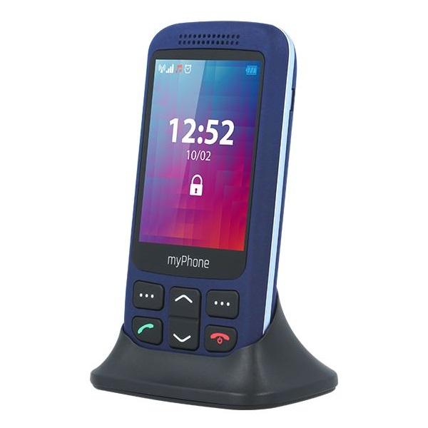 myPhone Halo S+ 2,8 3G kék mobiltelefon - 1