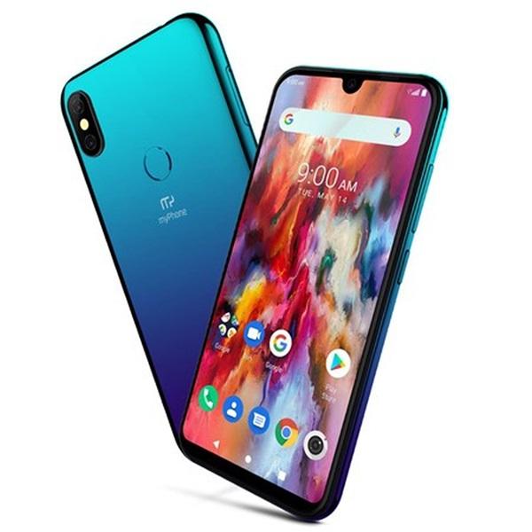 myPhone Pocket PRO 5,7 LTE 32GB Dual SIM kék okostelefon - 1