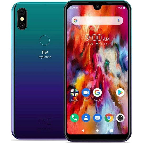 myPhone Pocket PRO 5,7 LTE 32GB Dual SIM kék okostelefon - 4