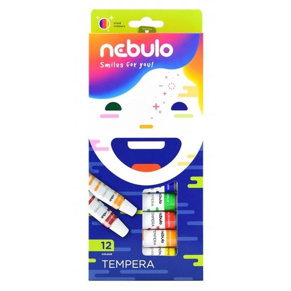 Nebuló 12 féle színű tempera készlet - 1