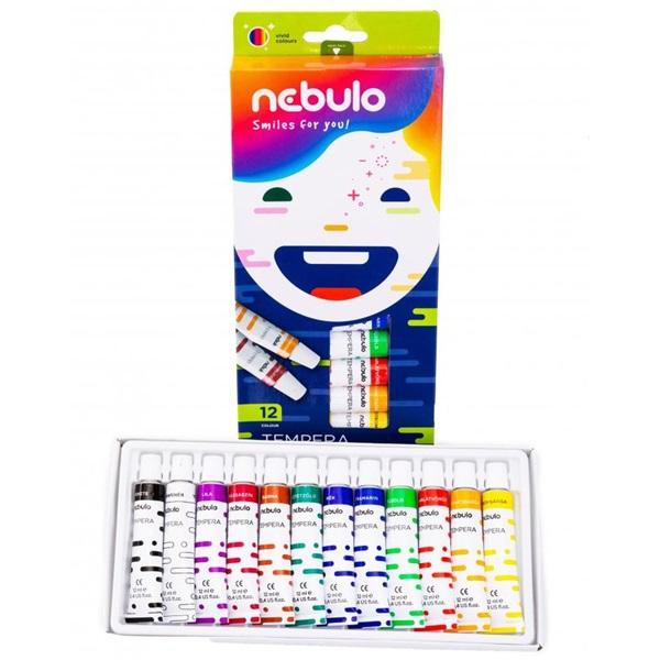 Nebuló 12 féle színű tempera készlet - 2