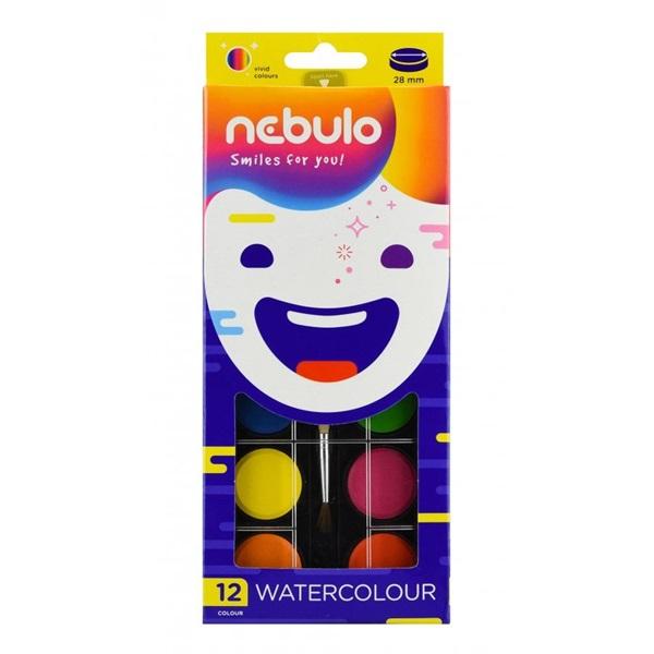 Nebuló 12db vízfesték készlet - 1