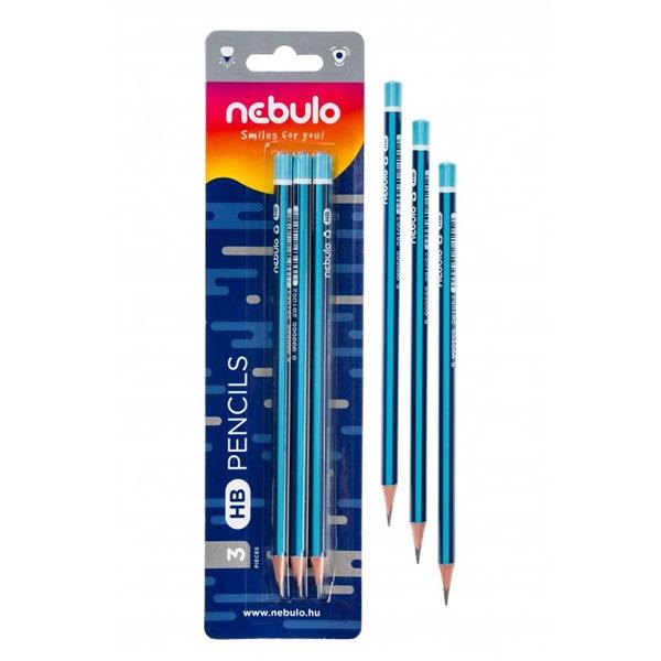 Nebuló HB 3db-os grafitceruza - 2
