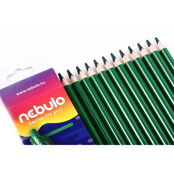 Nebuló Jumbo zöld színes ceruza - 1