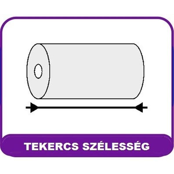 Niceday 57/40/12mm hőpapír tekercs - 2