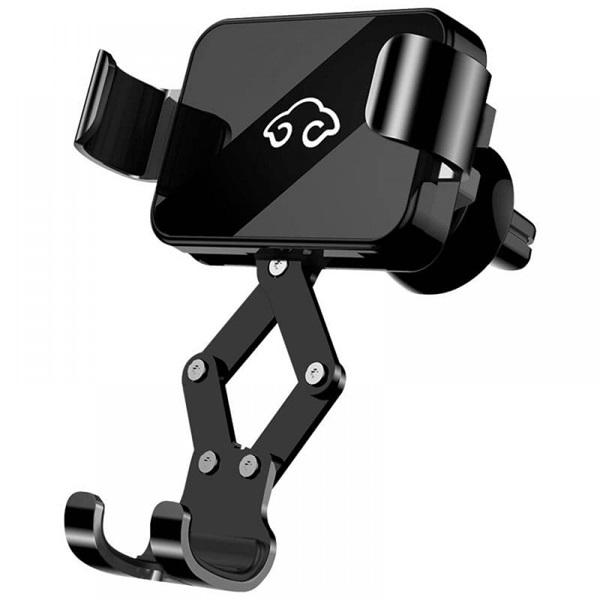 Nillkin NILK-B2HOLDER-BK B2 univerzális szellőzőrácsba rögzíthető fekete autós telefon tartó - 1