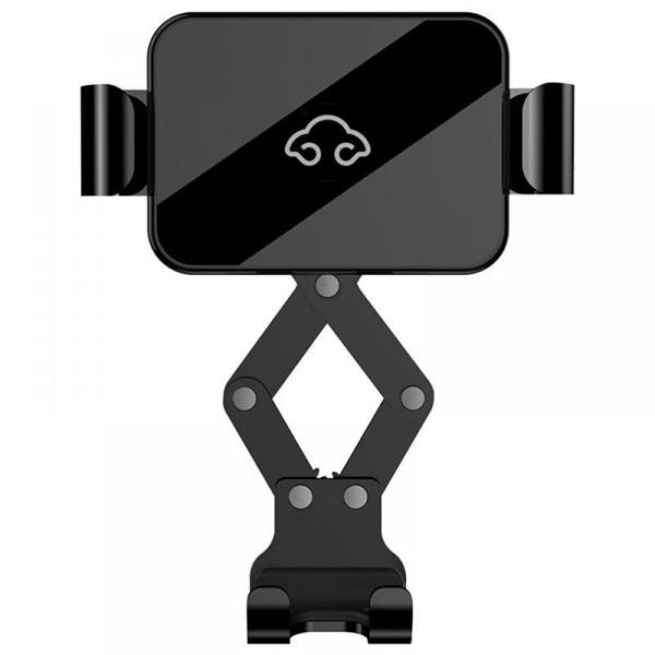 Nillkin NILK-B2HOLDER-BK B2 univerzális szellőzőrácsba rögzíthető fekete autós telefon tartó - 2