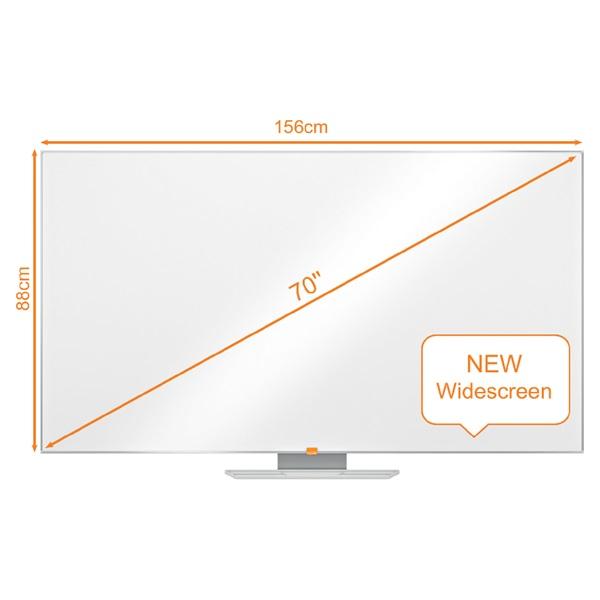 Nobo Nano Clean 70 széles képarányú mágneses fehértábla - 1