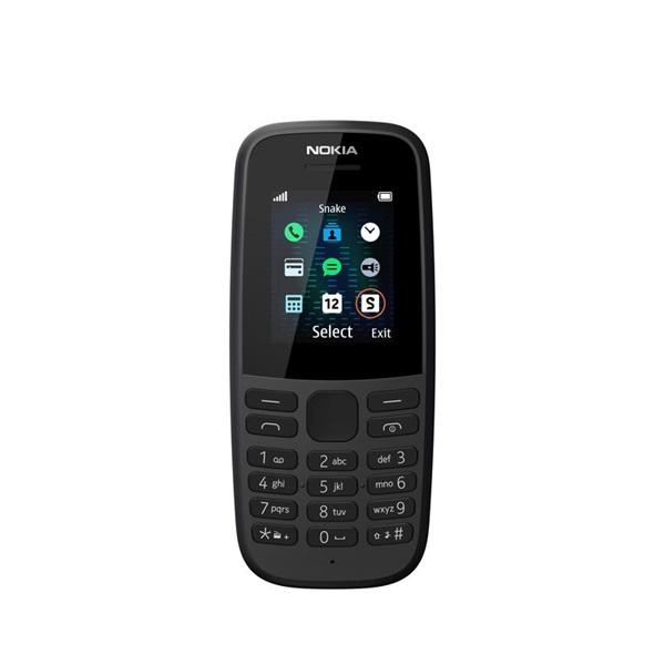 Nokia 105 (2019) 1,77 fekete mobiltelefon - 1