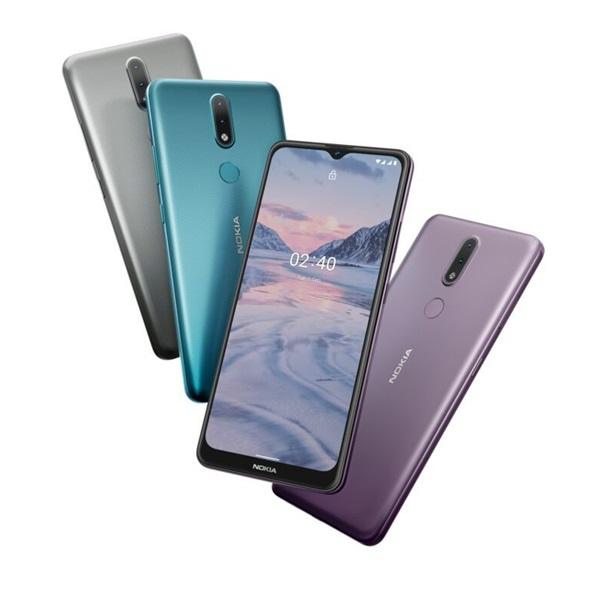 Nokia 2.4 6,5 LTE 2/32GB Dual SIM szürke okostelefon - 6