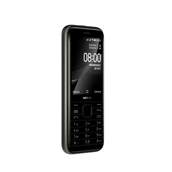 Nokia 8000 4G 2,8 Dual SIM fekete mobiltelefon - 2