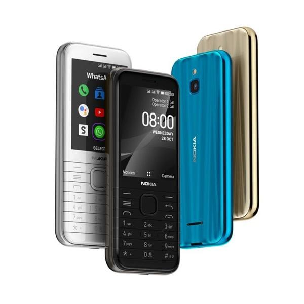 Nokia 8000 4G 2,8 Dual SIM fekete mobiltelefon - 6