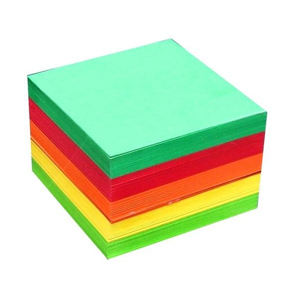 Office Depot 80x80x50mm színes kockatömb - 1