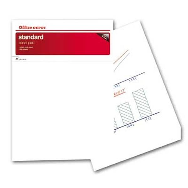 Office Depot extra 5 tömb sima flipchart papír - 1